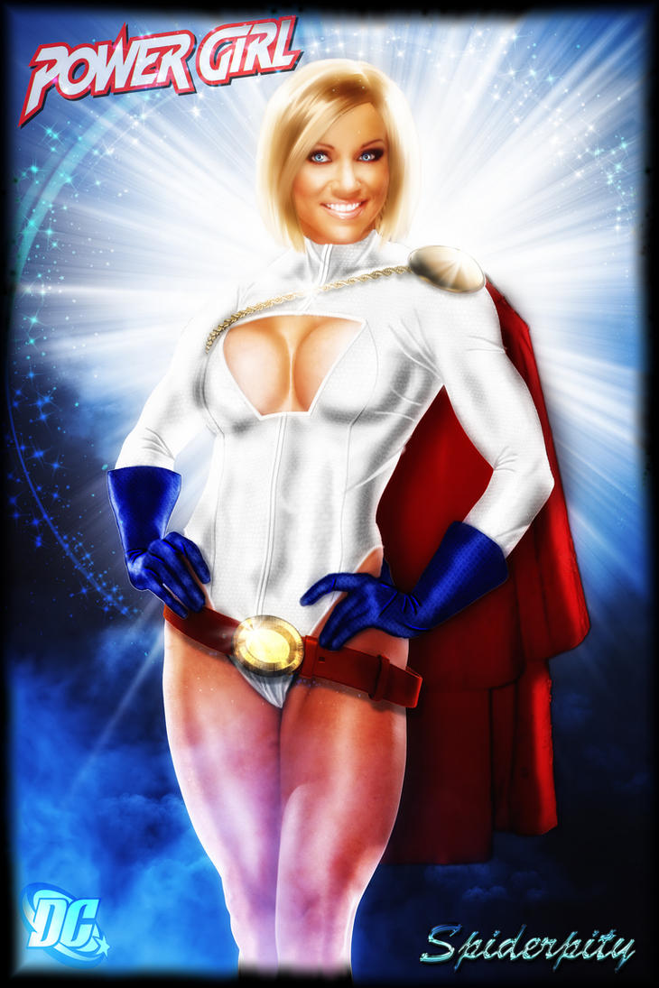 Powergirl by PGandara
