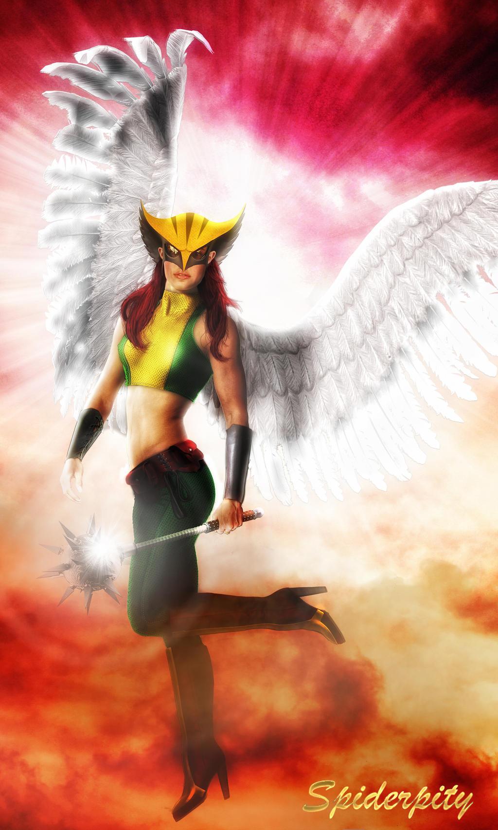Hawkgirl by PGandara
