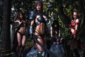 Fantasy Warriors by PGandara