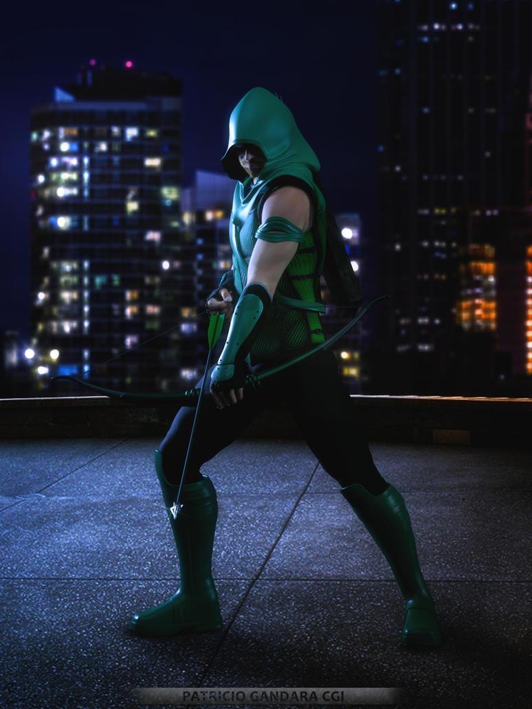 Green Arrow by PGandara