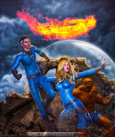 Fantastic Four by PGandara
