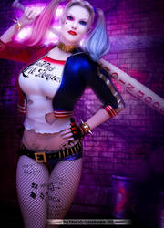 Suicide Squad HarleyQuinn by PGandara
