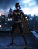 Batgirl by PGandara