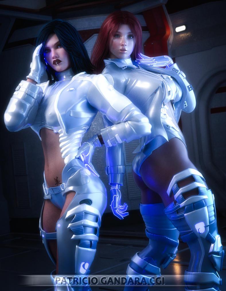 Cybergirls: Jessie Dani by PGandara