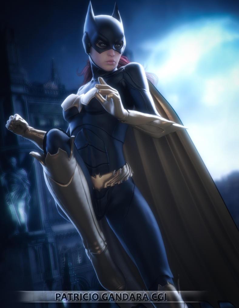 Batgirl new 52 by PGandara