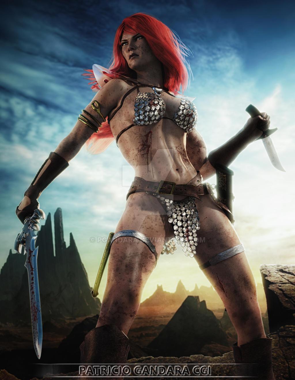 Red Sonja by PGandara