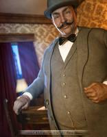 Hercule Poirot by PGandara
