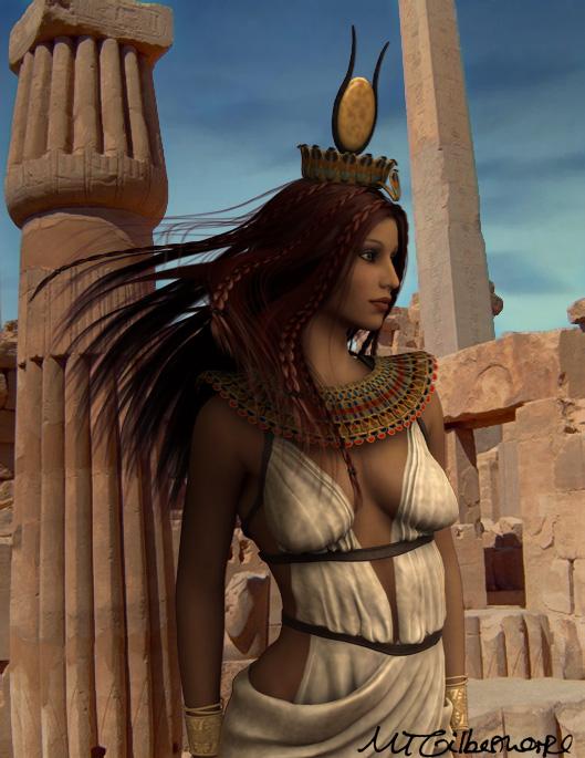 Hathor by michellecelebrielle