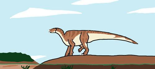 Iguanodon by Animedino321