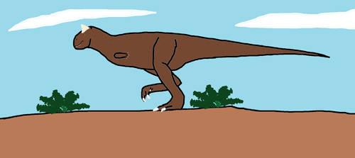 Carnotaurus by Animedino321