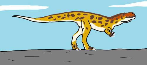 Torvosaurus by Animedino321