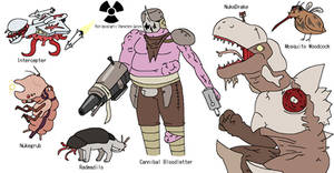 OC Profile: Post-Apocalyptic Characters Mk.2