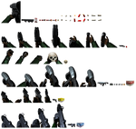 Angled XBLA Marathon 2 Weapon Sprites