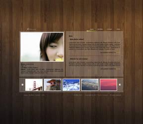 Photography portfolio layout by Fictionfourtyfour