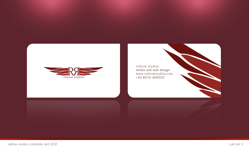 Redrow business card by Fictionfourtyfour