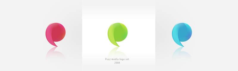 Penz media logo set