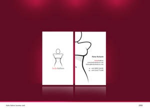 Keiko fashion business card