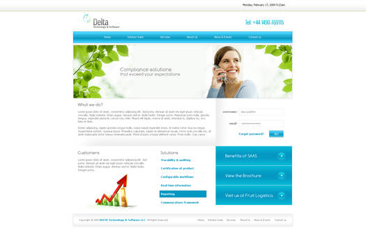Delta Software layout