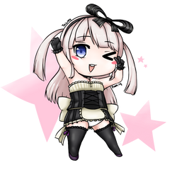 Chibi, SD request done by Orknology
