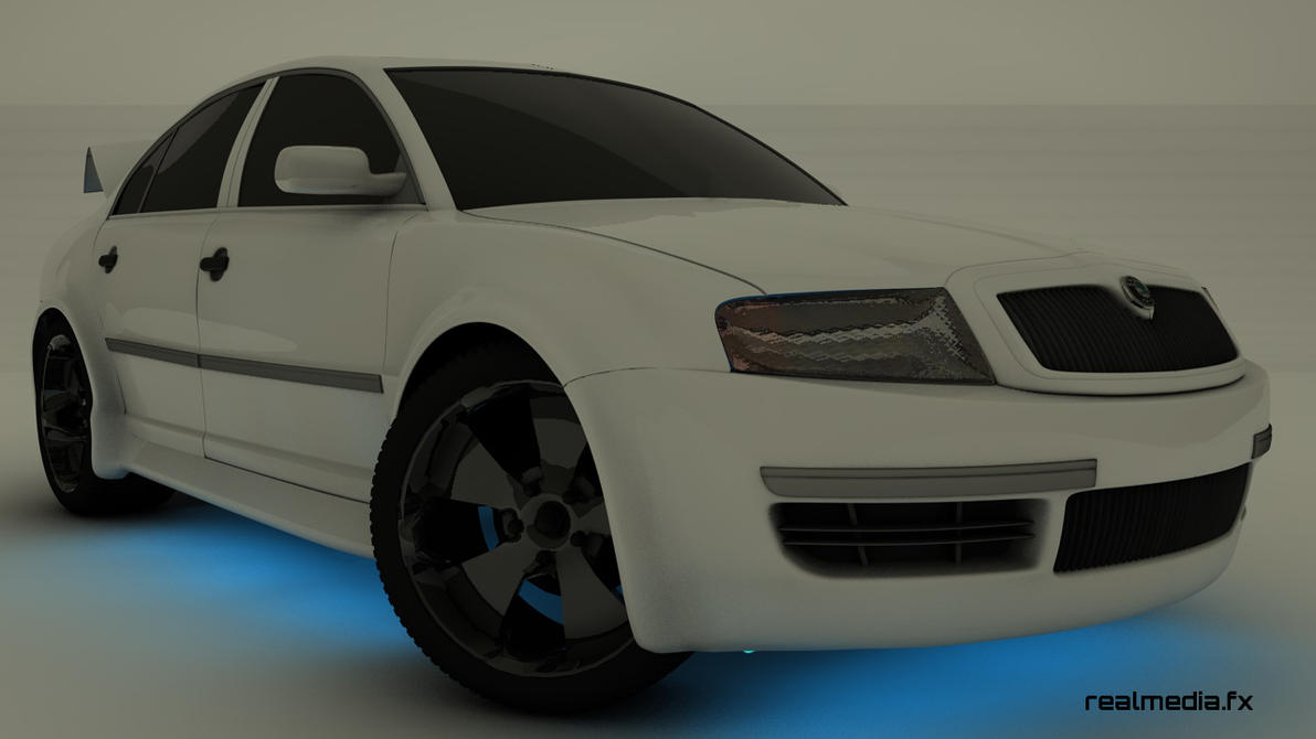 skoda superb tuning wip by rousmorgoth on deviantart. Black Bedroom Furniture Sets. Home Design Ideas