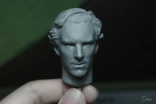 Benedict Cumberbatch 1:6 head WIP