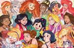 Disney princesses Wreck it Ralph 2