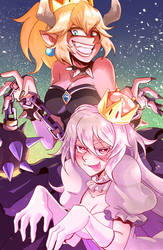 Bowsette and Boosette