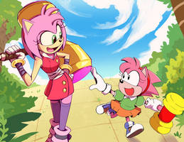 Amy Rose and the Rascal
