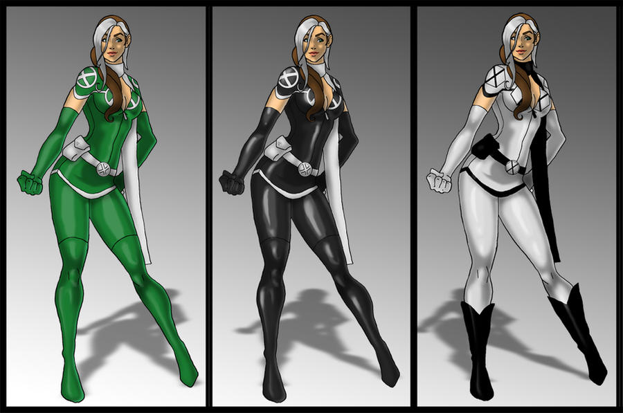 Rogue costume variants by skyboy16 ...  sc 1 st  DeviantArt & Rogue costume variants by skyboy16 on DeviantArt