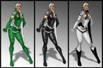Rogue costume variants