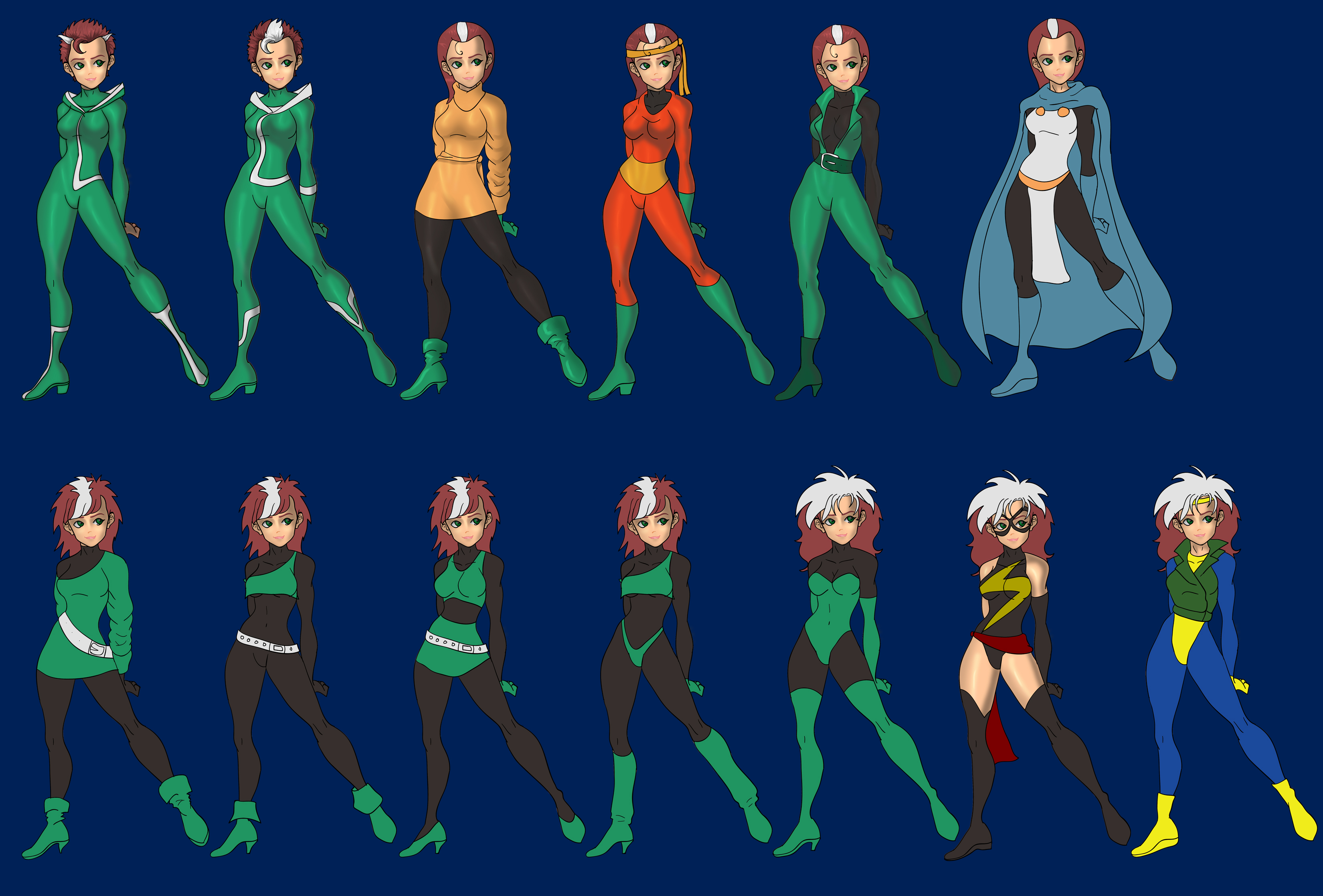 Rogue costume progress by skyboy16 Rogue costume progress by skyboy16  sc 1 st  DeviantArt & Rogue costume progress by skyboy16 on DeviantArt