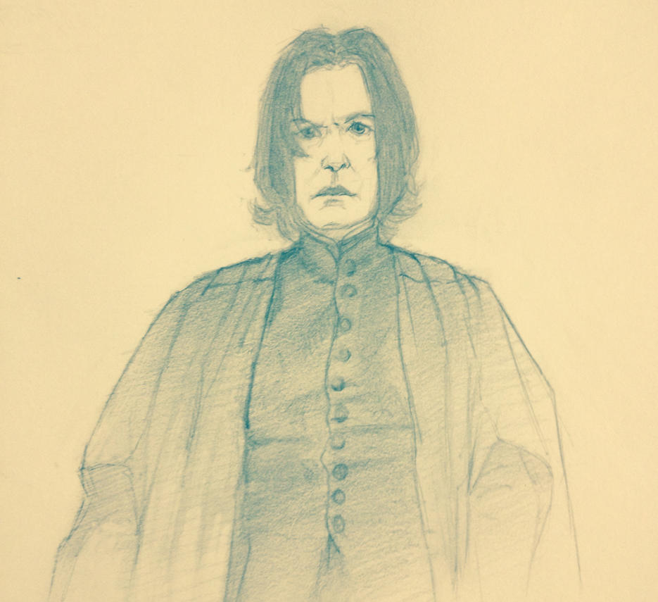 Severus Snape  by How2Draw