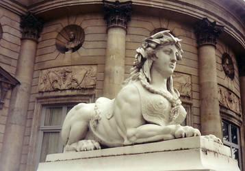 Sphinx by BrownWolfFM
