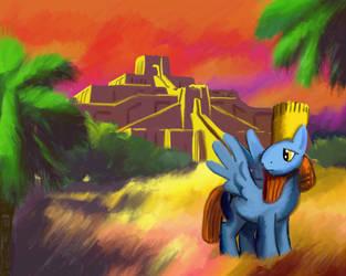 Babylon Pony 2 by BrownWolfFM
