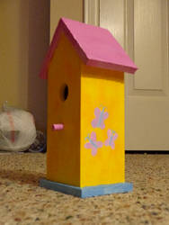 Fluttershy birdhouse
