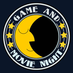 Game and Movie Night Icon