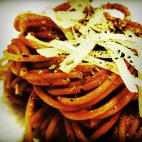 Spaghetti napoli by CookConcept