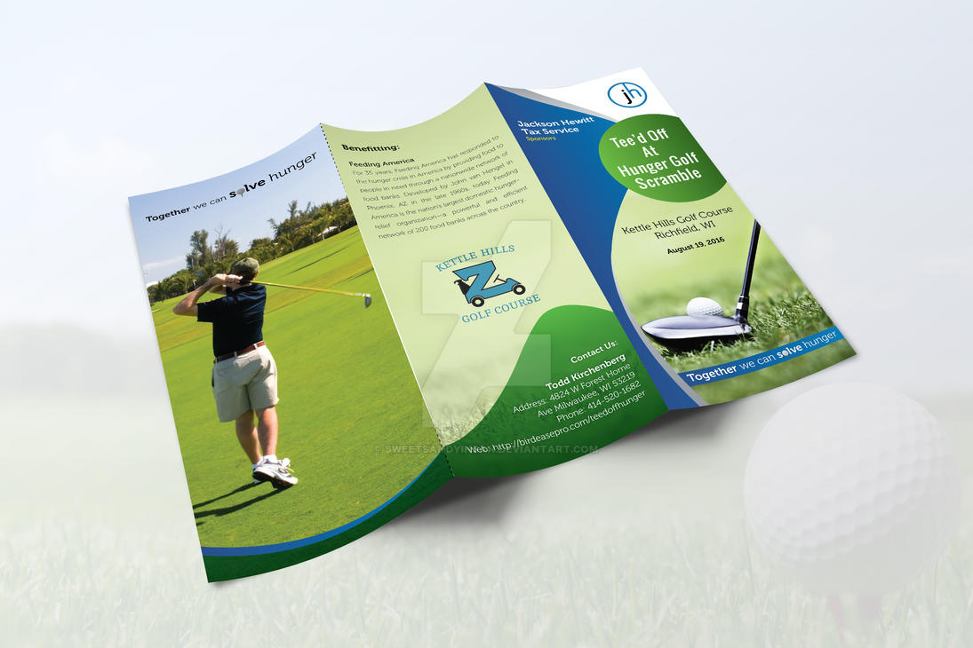 Golf Trifold by sweetsandyinsan