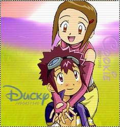Cookie And Ducky by xCookiexKamiyax