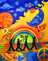 The Beatles by AEVoortman
