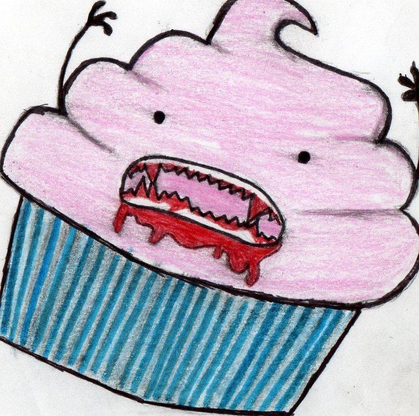 evil cupcake by 1grl on DeviantArt