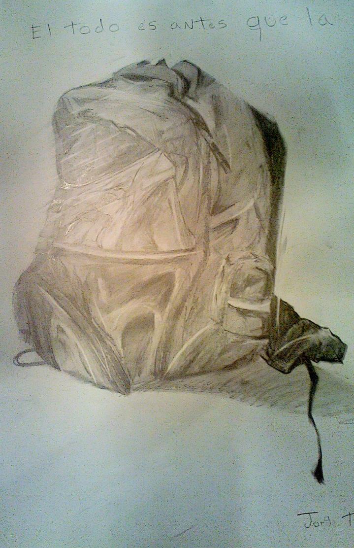 dibujo de un bolso(muy claros valores) by Artmeans321