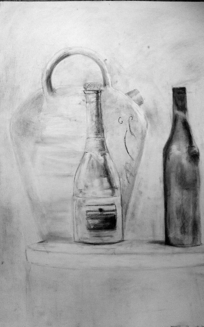 bottles composition by Artmeans321