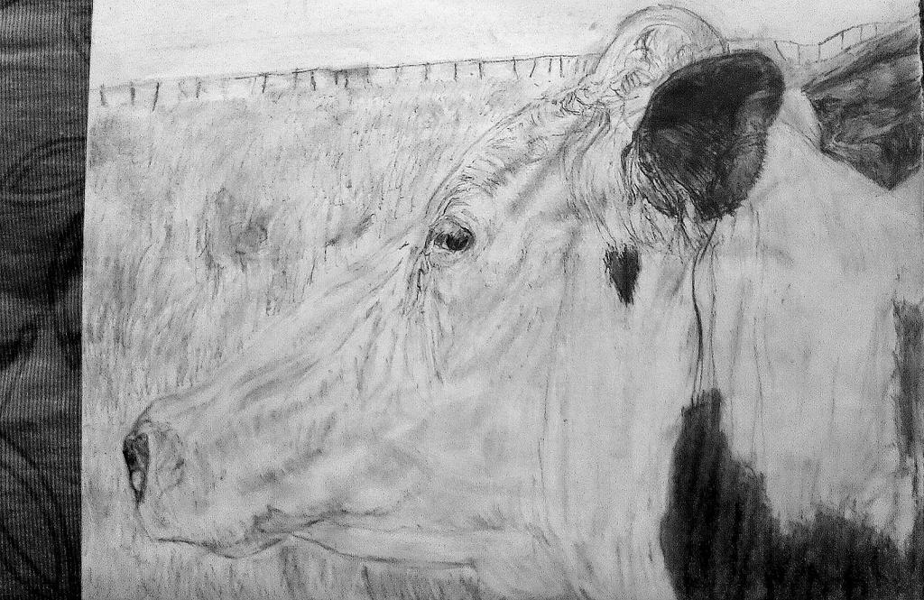 retrato de una vaca by Artmeans321