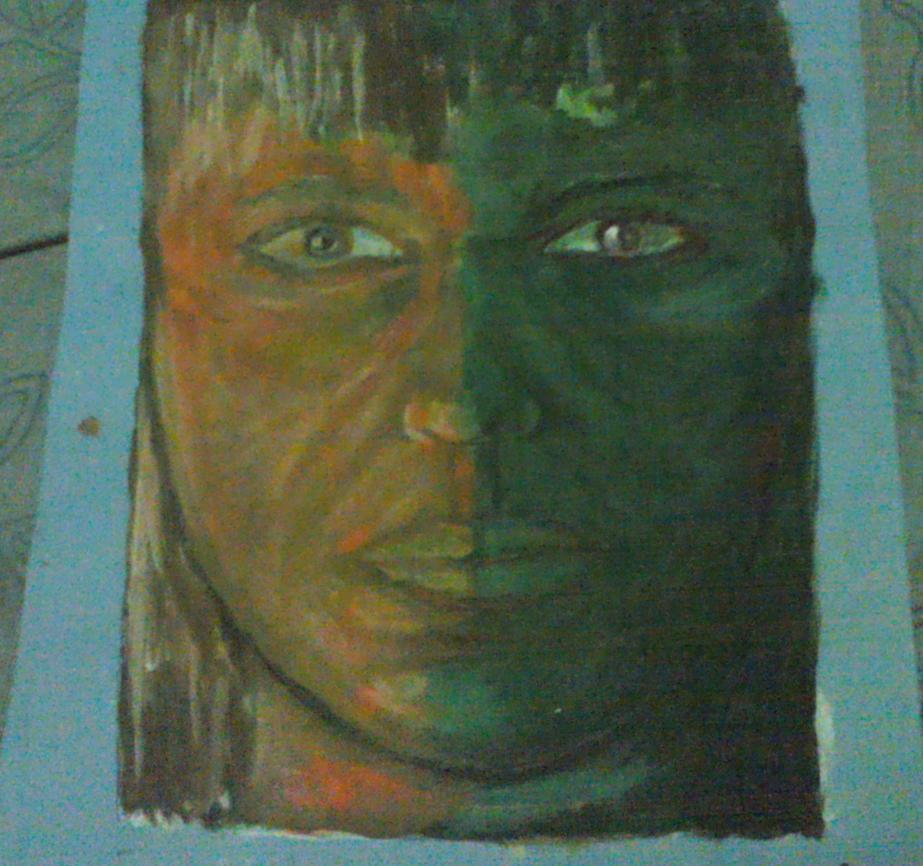 retrato de mujer imaginario by Artmeans321