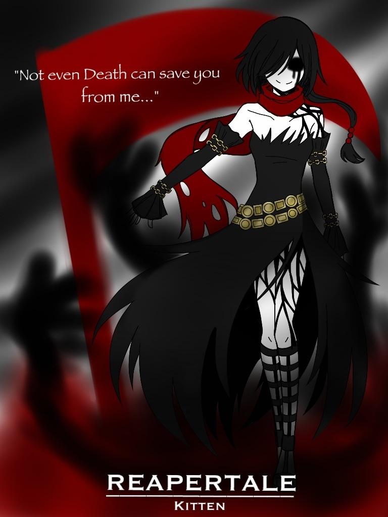 Character Unlocked: Reapertale Kitten by CNeko-chan