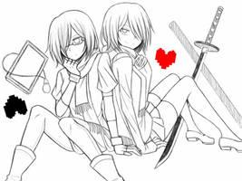 My Dear Doppleganger [A-chan and Kitten ver.] by CNeko-chan