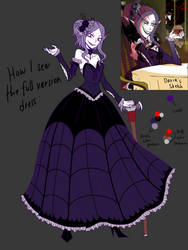 My perspective on new dress of Missi by CNeko-chan