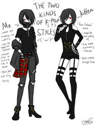 dunno if kpop or Japanese style bruh by CNeko-chan