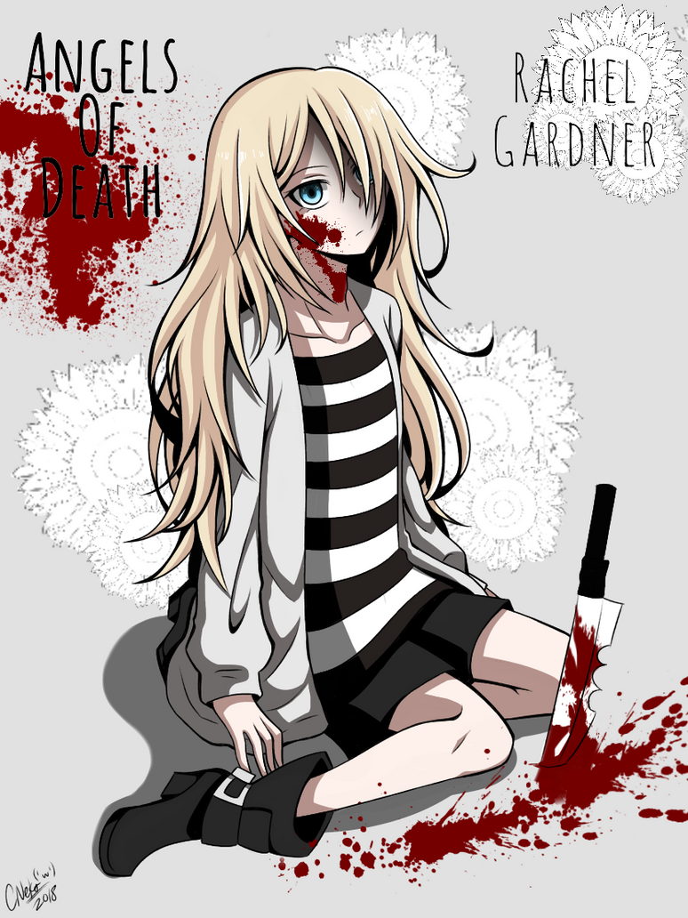 Rachel Gardner [Angels of Death] by CNeko-chan